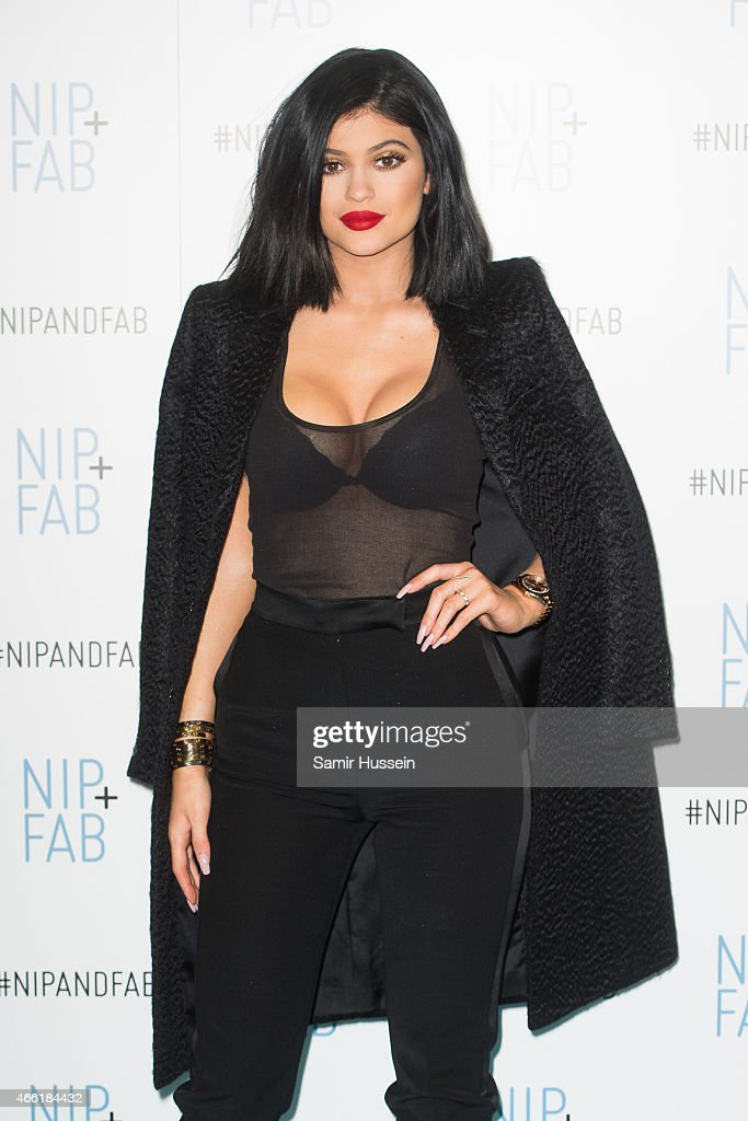 Kylie Jenner: Ambassador For Nip+Fab Photocall : News Photo