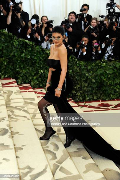 Kylie Jenner attends Heavenly Bodies Fashion The Catholic Imagination Costume Institute Gala at the Metropolitan Museum of Art in New York City