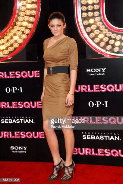 Kylie Jenner attends Los Angeles Premiere of BURLESQUE at Grauman's Chinese Theatre on November 15 2010 in Hollywood California