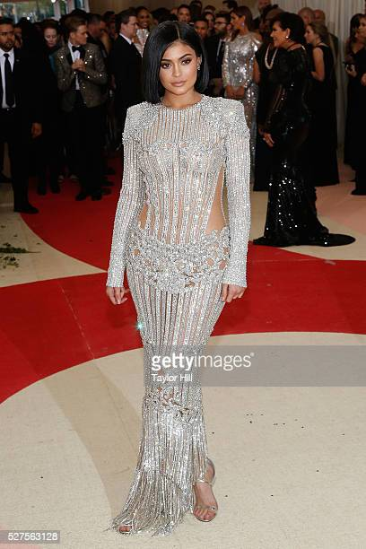"""Kylie Jenner attends """"Manus x Machina: Fashion in an Age of Technology"""", the 2016 Costume Institute Gala at the Metropolitan Museum of Art on May 02,..."""