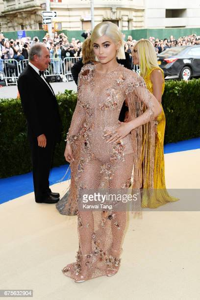 """Kylie Jenner attends """"Rei Kawakubo/Comme des Garcons: Art Of The In-Between"""" Costume Institute Gala at Metropolitan Museum of Art on May 1, 2017 in..."""
