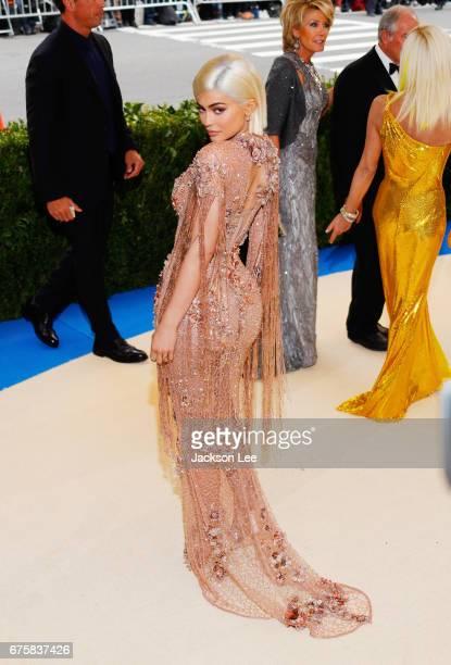 Kylie Jenner attends 'Rei Kawakubo/Comme des GarçonsArt of the InBetween' Costume Institute Gala at Metropolitan Museum of Art on May 1 2017 in New...