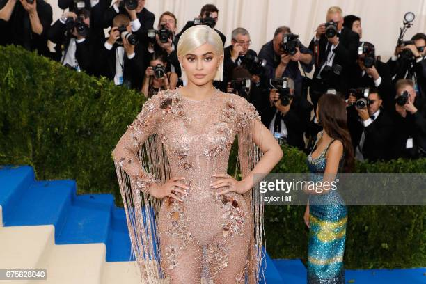 Kylie Jenner attends Rei Kawakubo/Commes Des Garcons Art of the InBetween the 2017 Costume Institute Benefit at Metropolitan Museum of Art on May 1...