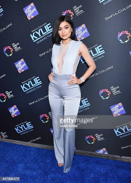 Kylie Jenner attends SinfulColors and Kylie Jenner Announce charitybuzzcom Auction for Anti Bullying on July 14 2016 in Los Angeles California