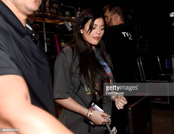 Kylie Jenner attends the 2017 iHeartRadio Music Festival at TMobile Arena on September 23 2017 in Las Vegas Nevada