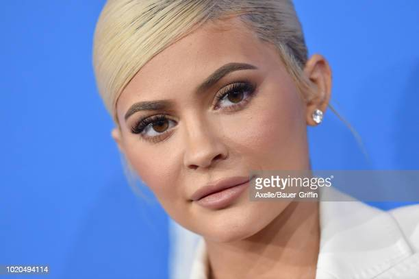 Kylie Jenner attends the 2018 MTV Video Music Awards at Radio City Music Hall on August 20 2018 in New York City