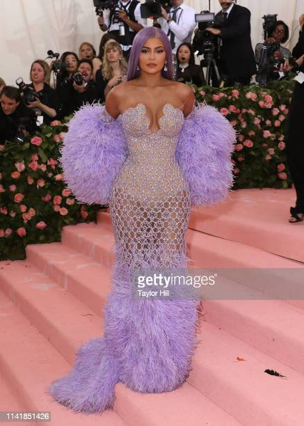 Kylie Jenner attends the 2019 Met Gala celebrating Camp Notes on Fashion at The Metropolitan Museum of Art on May 6 2019 in New York City