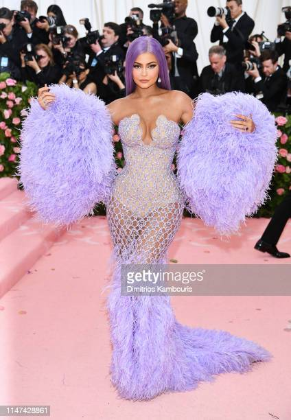 Kylie Jenner attends The 2019 Met Gala Celebrating Camp: Notes on Fashion at Metropolitan Museum of Art on May 06, 2019 in New York City.