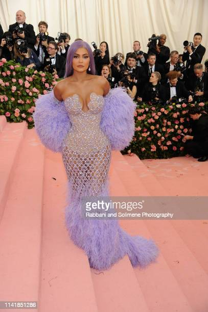 Kylie Jenner attends The 2019 Met Gala Celebrating Camp: Notes On Fashion - Arrivalsat The Metropolitan Museum of Art on May 6, 2019 in New York City.