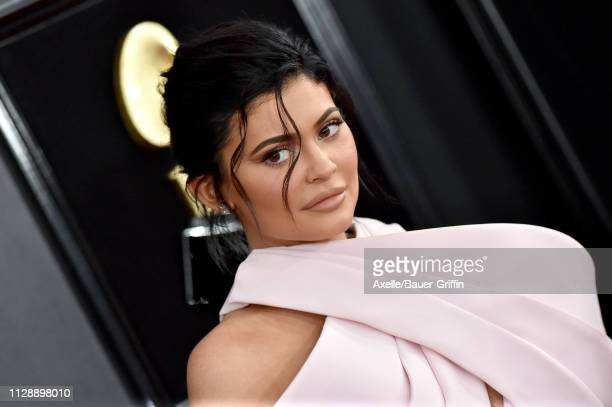Kylie Jenner attends the 61st Annual GRAMMY Awards at Staples Center on February 10 2019 in Los Angeles California