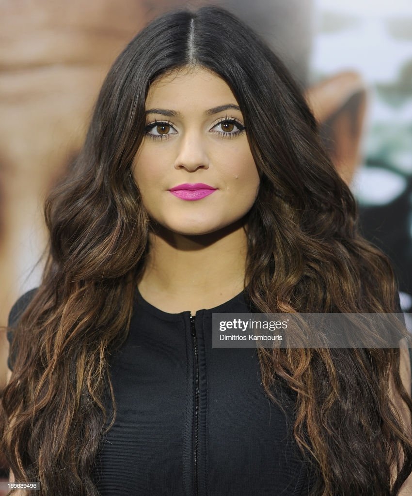 Kylie Jenner attends the 'After Earth' premiere at the Ziegfeld Theater on May 29, 2013 in New York City.