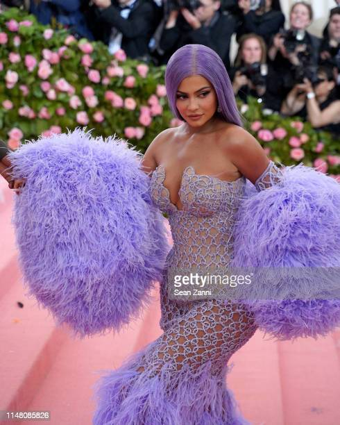 Kylie Jenner attends The Metropolitan Museum Of Art's 2019 Costume Institute Benefit Camp Notes On Fashion at Metropolitan Museum of Art on May 6...