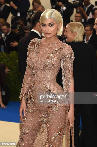 """Kylie Jenner attends the """"Rei Kawakubo/Comme des Garcons: Art Of The In-Between"""" Costume Institute Gala at Metropolitan Museum of Art on May 1, 2017..."""