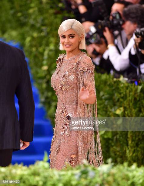 Kylie Jenner attends the 'Rei Kawakubo/Comme des Garcons Art Of The InBetween' Costume Institute Gala at Metropolitan Museum of Art on May 1 2017 in...