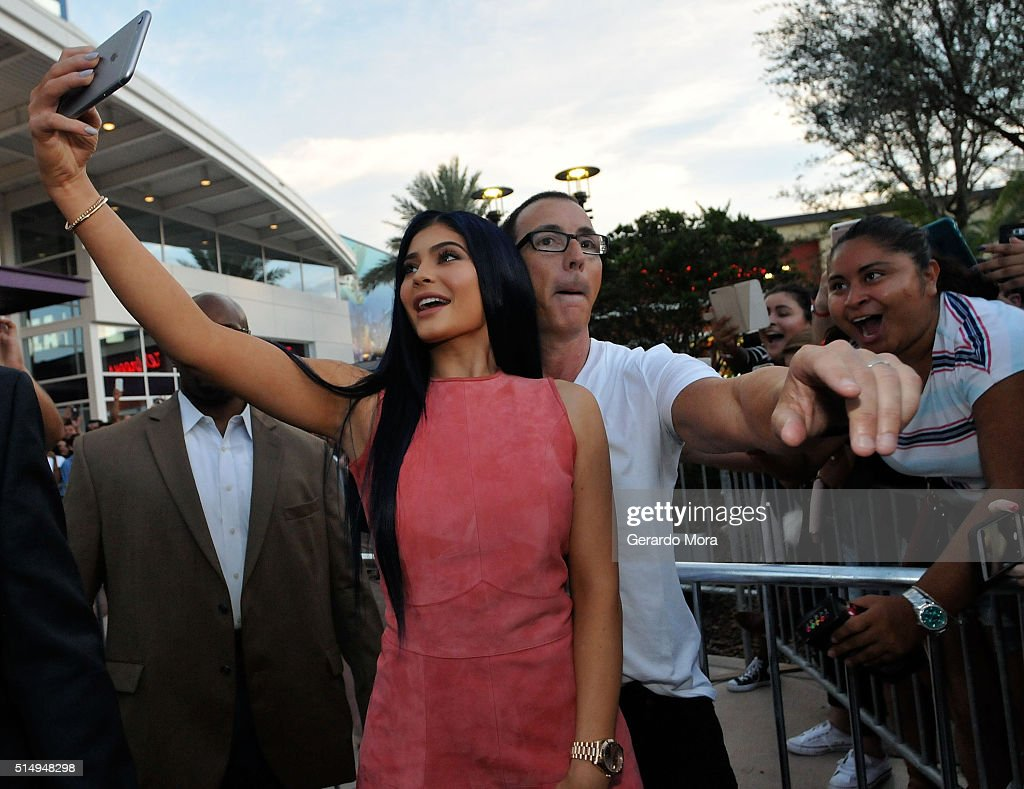 Kylie Jenner hosts Sugar Factory Orlando Grand Opening on March 11, 2016 in Orlando, Florida.