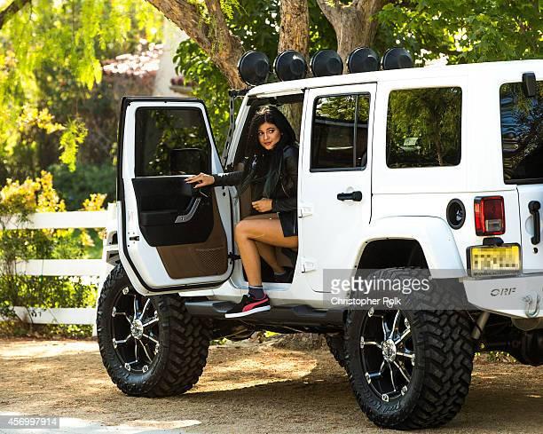 Kylie Jenner is seen October 10 2014 in Calabasas California