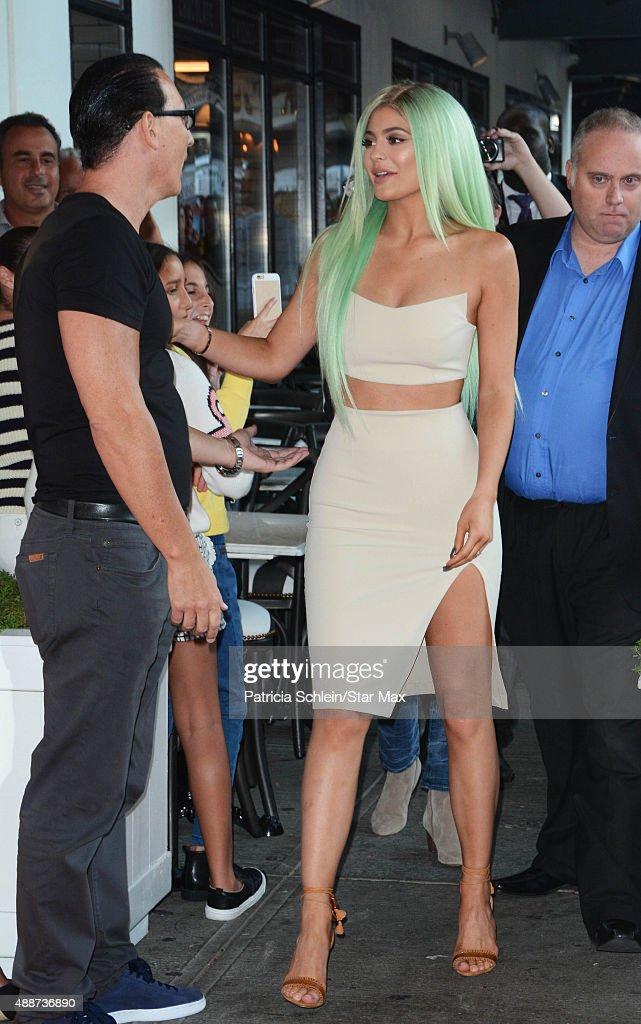 Celebrity Sightings In New York City - September 16, 2015 : Foto jornalística