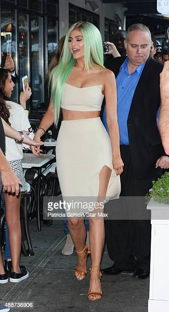 Kylie Jenner is seen on September 16 2015 in New York City