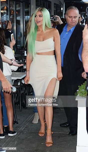 Kylie Jenner is seen on September 16 2015 in New York City