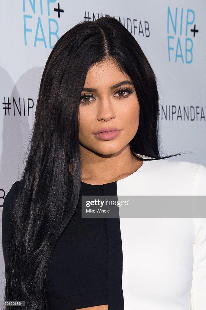 Kylie Jenner Announced As Brand Ambassador For Nip + Fab - Red Carpet