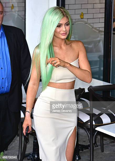 Kylie Jenner seen on the streets of Manhattan on September 16 2015 in New York City