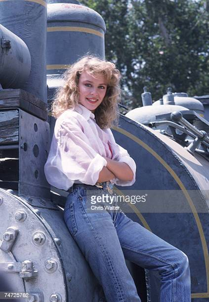 Kylie Minogue 1988 at the Music File Photos 1980's in los angeles,
