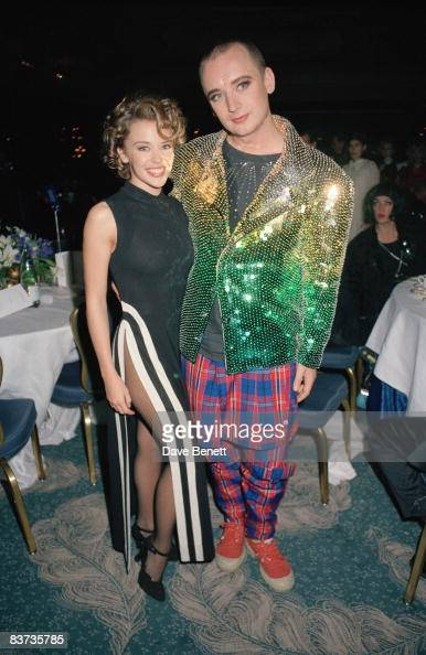 Kylie Minogue And Boy George At The London Fashion Awards