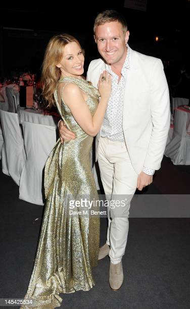 Kylie Minogue and Dean Piper attend an after party following the Glamour Women of the Year Awards in association with Pandora at Berkeley Square...