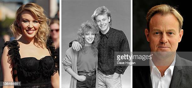 In this composite image a comparison has been made of actors Kylie Minogue and Jason Donovan Many of today's leading Hollywood stars began their...