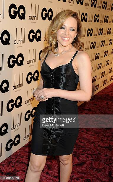 Kylie Minogue arrives at the GQ Men Of The Year Awards 2011 at The Royal Opera House on September 6 2011 in London England