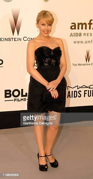 Kylie Minogue at amfAR's Cinema Against AIDS event, presented by Bold Films, the M*A*C AIDS Fund and The Weinstein Company to benefit amfAR