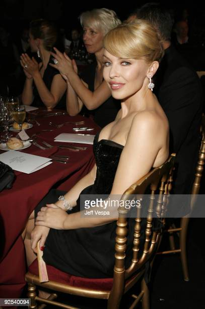 Kylie Minogue at amfAR's Cinema Against AIDS event, presented by Bold Films, the M�A�C AIDS Fund and The Weinstein Company to benefit amfAR