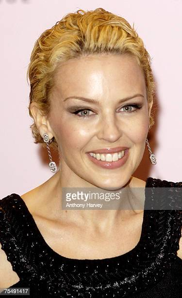 Kylie Minogue at the Harrods in London, United Kingdom.