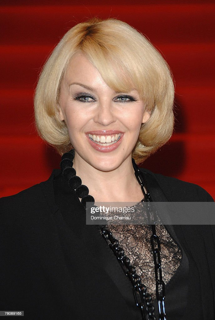 "Kylie Minogue New Album Launch for ""X"" At Virgin Megastore in Paris : News Photo"