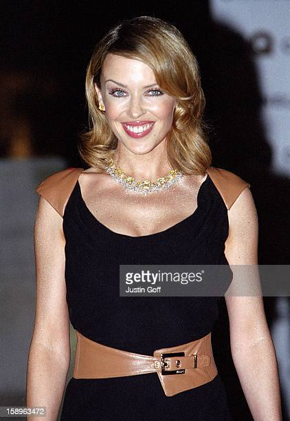 Kylie Minogue Attends The 2001 Gq Magazine 'Men Of The Year' Awards At London'S Victoria And Albert Museum