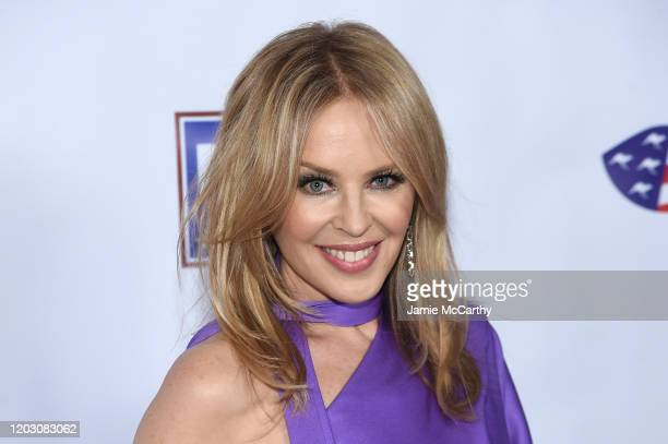 Kylie Minogue attends the 2020 AAA Arts Awards at Skylight Modern on January 30, 2020 in New York City.