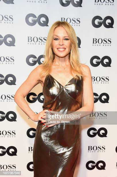 Kylie Minogue attends the GQ Men of the Year Awards 2018 in association with HUGO BOSS at Tate Modern on September 5 2018 in London England