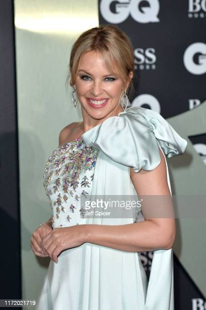 Kylie Minogue attends the GQ Men Of The Year Awards 2019 at Tate Modern on September 03 2019 in London England