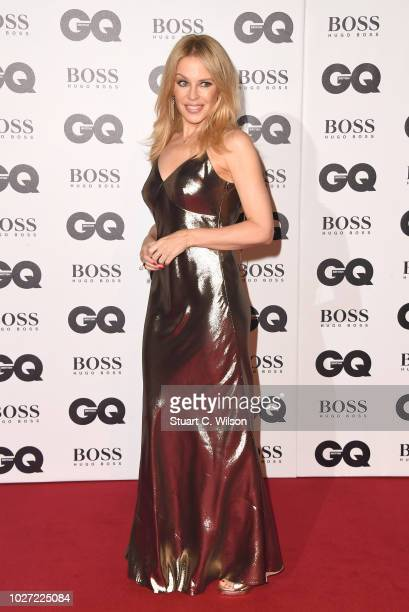 Kylie Minogue attends the GQ Men of the Year awards at the Tate Modern on September 5 2018 in London England