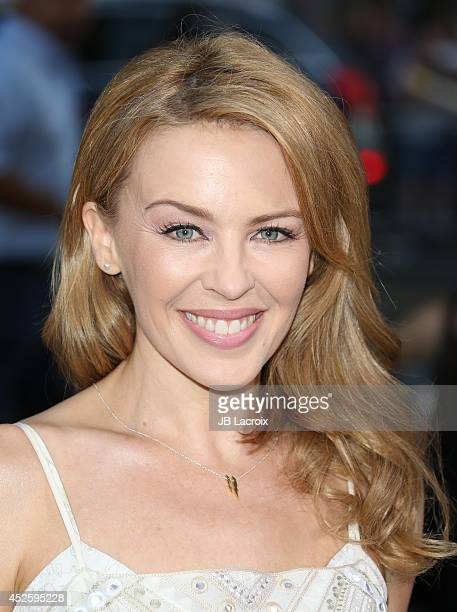 Kylie Minogue attends the Hercules Los Angeles Premiere on July 23 2014 at the TCL Chinese Theatre in Hollywood California