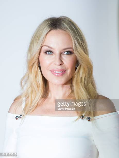 Kylie Minogue attends the 'Kingsman The Golden Circle' World Premiere held at Odeon Leicester Square on September 18 2017 in London England