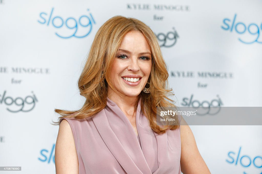 Kylie Minogue For Sloggi Collection Presentation - Press Conference