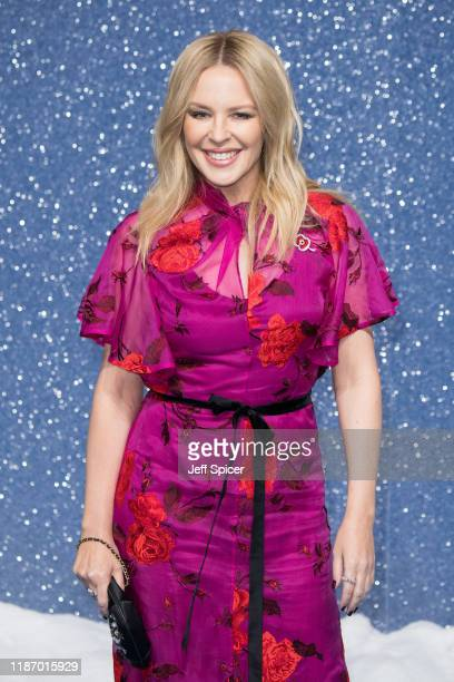 "Kylie Minogue attends the ""Last Christmas"" UK Premiere at BFI Southbank on November 11, 2019 in London, England."