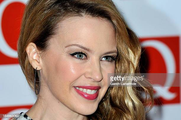 Kylie Minogue attends the Q Awards at the Grosvenor House Hotel on October 22 2012 in London England