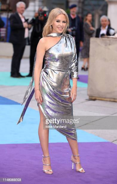 Kylie Minogue attends the Royal Academy of Arts Summer exhibition preview at Royal Academy of Arts on June 4, 2019 in London, England.