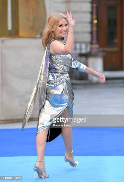 Kylie Minogue attends the Royal Academy of Arts Summer exhibition preview at Royal Academy of Arts on June 04 2019 in London England