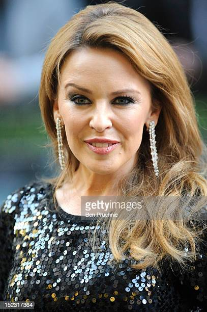 Kylie Minogue attends the UK Film Premiere of 'Holy Motors' at The Curzon Mayfair on September 18 2012 in London England