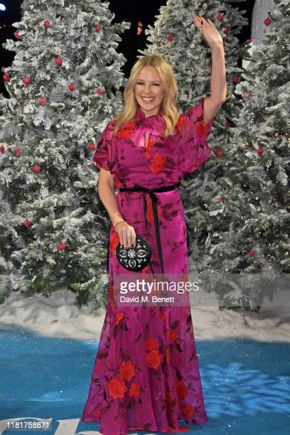 Kylie Minogue attends the UK Premiere of Last Christmas at the BFI Southbank on November 11 2019 in London England