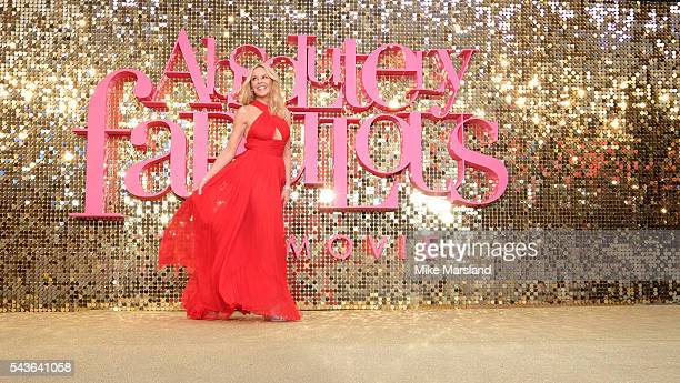 Kylie Minogue attends the World Premiere of 'Absolutely Fabulous The Movie' at Odeon Leicester Square on June 29 2016 in London England