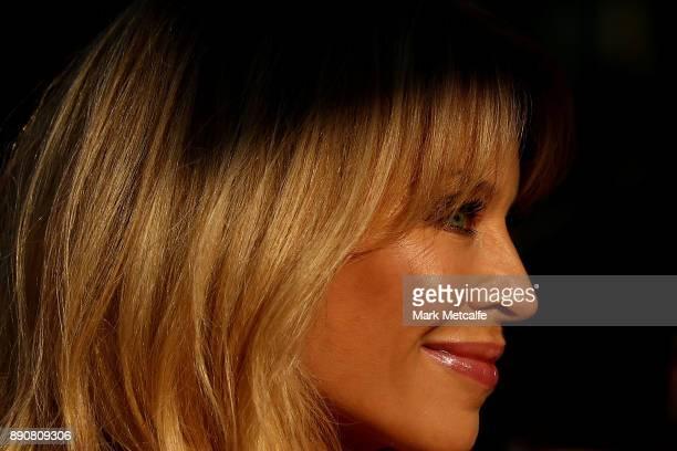 Kylie Minogue attends the world premiere of Swinging Safari on December 12 2017 in Sydney Australia